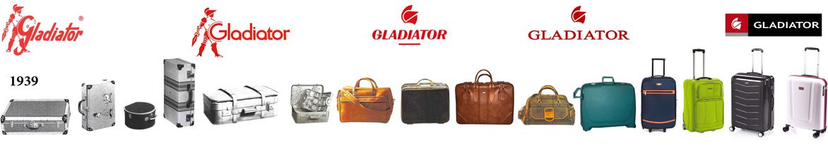 Cestovní kufry Gladiator - evoluce