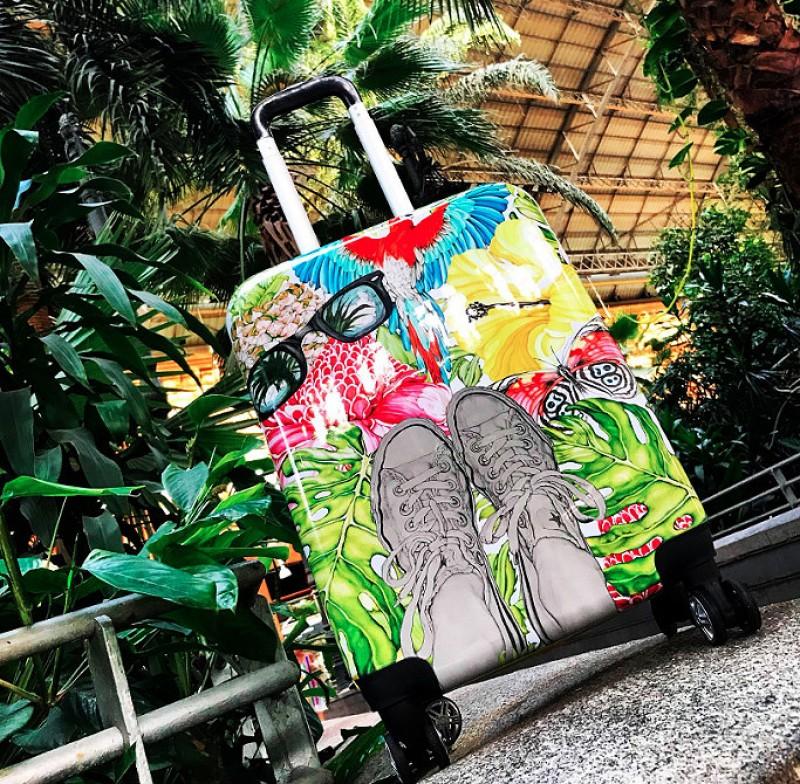 Urban / Jungle design, ideální na cesty z města do džungle