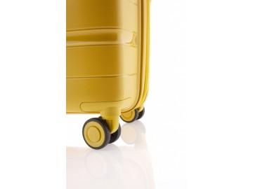 Gladiator BOXING Kabinový kufr 4 kolečka 55 cm - Černý